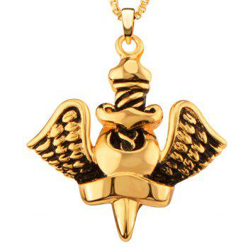 Big Angel Design Necklace