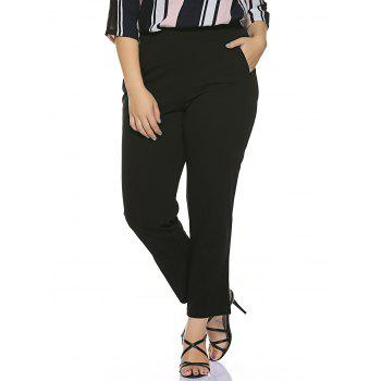 Plus Size Stretched Skinny Fitted Pants