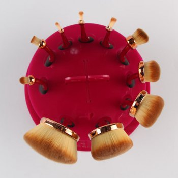 Cosmetic Round Brushtree Brush Holder Makeup Brush Stand -  ROSE MADDER
