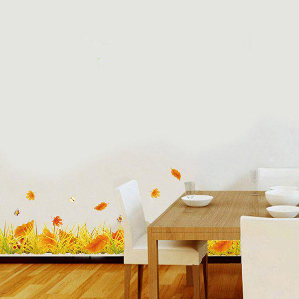 цены Creative Furniture Fallen Leaves Removable Decorative Wall Art Sticker