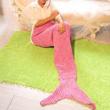 Handmade Crochet Photography Prop or Sofa Mermaid Blanket