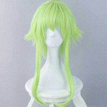 Anti Alice Hair Long Long Straight Cosplay Synthetic Wig - CELADON