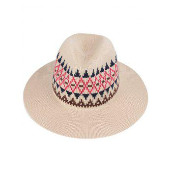 Casual Geometry Knitted Jazz Hat