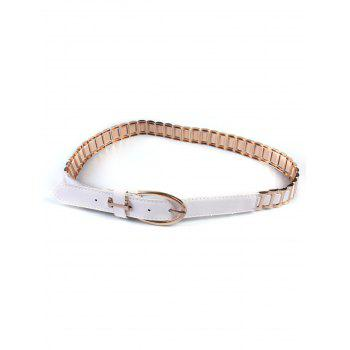 Pin Buckle Watchband Wide Belt