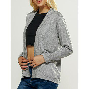 Casual Pocket Design Loose Fitting Cardigan