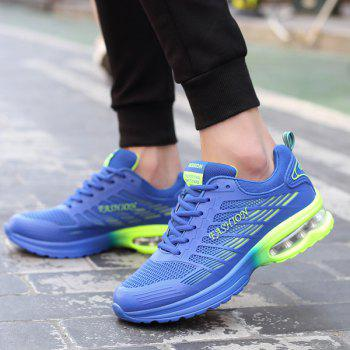 Mesh Lace-Up Air Cushion Athletic Shoes