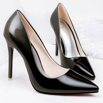Gradient Color Stiletto Heel Pointed Toe Pumps