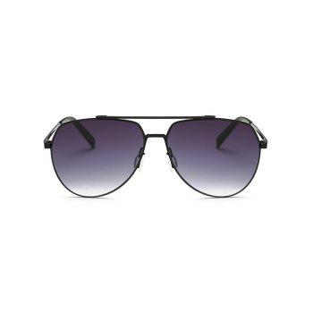 Cool Pilot Sunglasses - BLACK