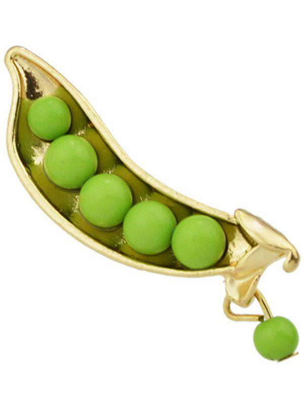 Alloy Peasecod Beads Brooch