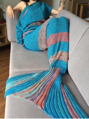 2018 Mermaid Tail Blanket Knitting Pattern Online Store Best