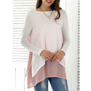 Asymmetrical Smock Blouse