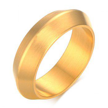 Matte Stainless Steel Plating Ring