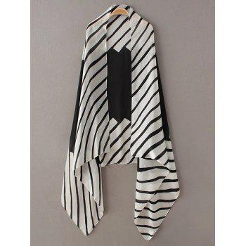 Soft Stripe Pattern Pashmina