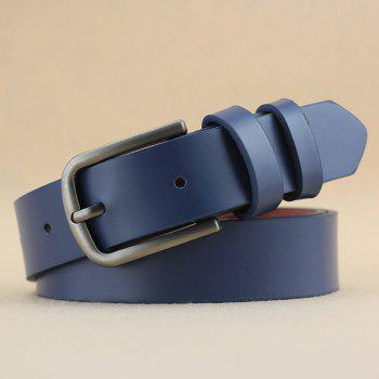 Lady Brief Style Pin Buckle PU Belt