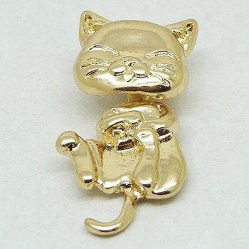 Cat Shape Piercing 1PCS Stud Earring