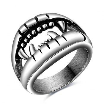 Fashion Style Cut Out Finger Devil Ring