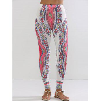 Ethnic High Waisted Workout Leggings