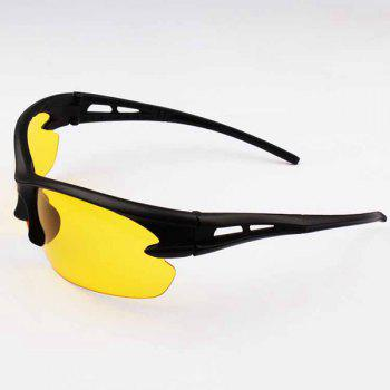 Outdoor Night-Eye Cycling Sunglasses - BLACK