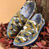 Slip-On Camouflage Print Casual Shoes - COLORMIX 41