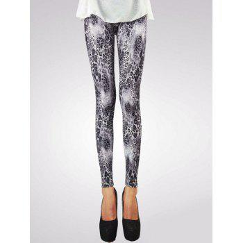 Chic Leopard Printed Leggings For Women