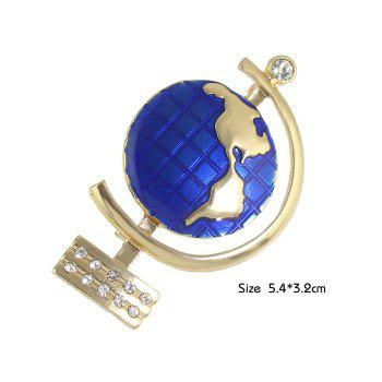 Strass Tellurion Broche Forme - Or