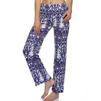 Tribal Print Loose-Fitting Exumas Pants