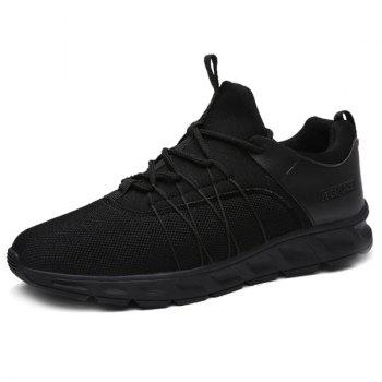 Splicing Lace-Up Athletic Shoes