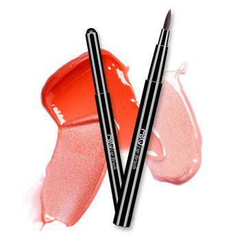 Cosmetic Telescopic Design Fiber Lip Brush