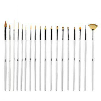 Nail Art Tools 18 Pcs Fiber Drawing Pens
