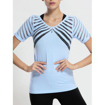 Hollow Out Long Workout Gym Top