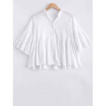 Loose Frilled Blouse