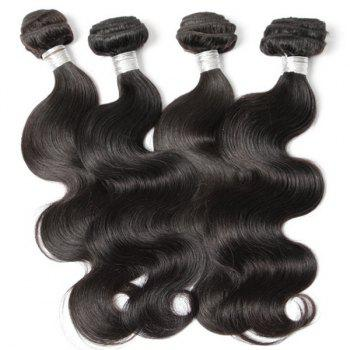 1Pcs Body Wave Indian 5A Remy Hair Weave - 16INCH 16INCH