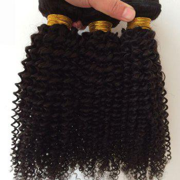 1Pcs Kinky Curly Indian 5A Remy Hair Weave