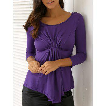 Casual Twist Blouse