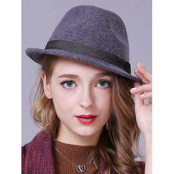 Hot Sale Zigzag Band Felt Jazz Hat