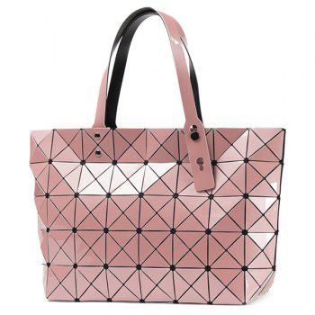Geometric Foldable Tote Bag