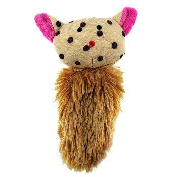Cat's Faves Catnip Pet Supply Plush Toy -  YELLOW