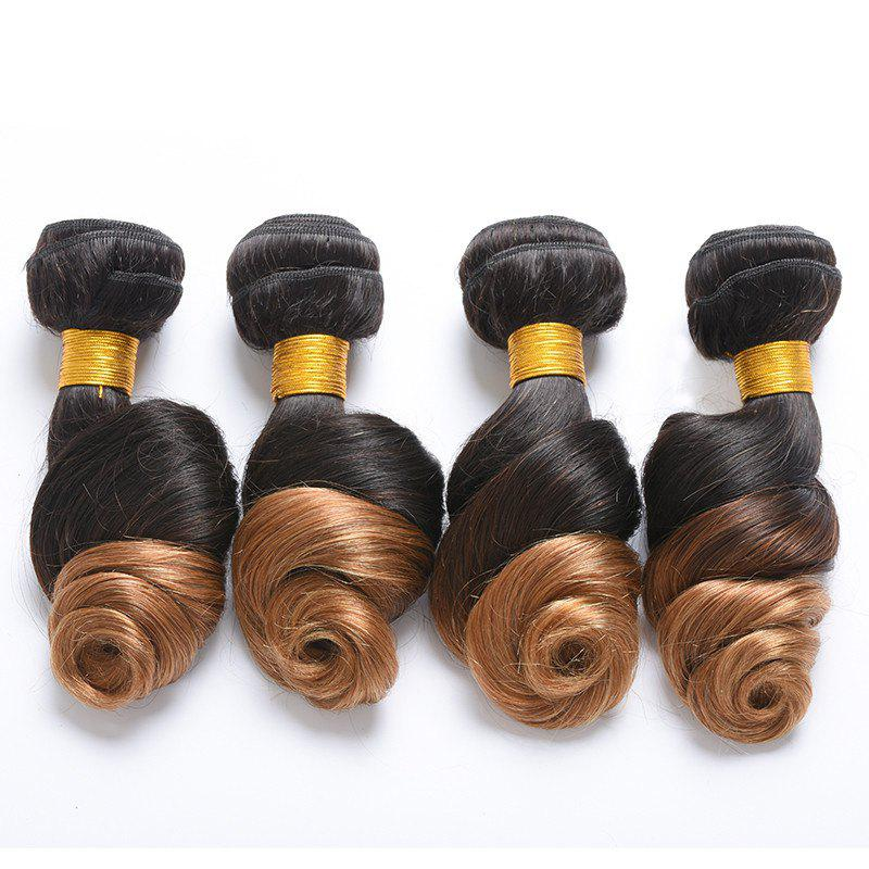 Multi 6A Virgin 1 Pcs Loose Funmi Brazilian Hair Weave - COLORMIX 26INCH