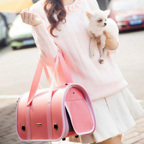 Good Quality Going Out Cat or Dog Carrier Bag - PINK S