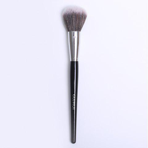 Cosmetic Nylon Round Blush Brush - Noir