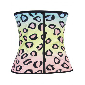 Personalized Colorful Print Underbust Corset Top