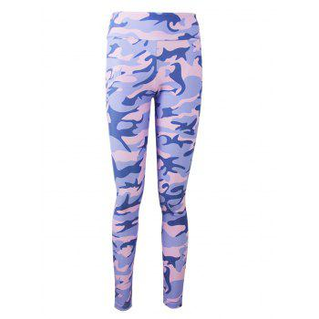 Active Camo Colorful Print Leggings