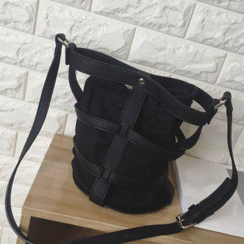 Cavas Splicing Crossbody Bag
