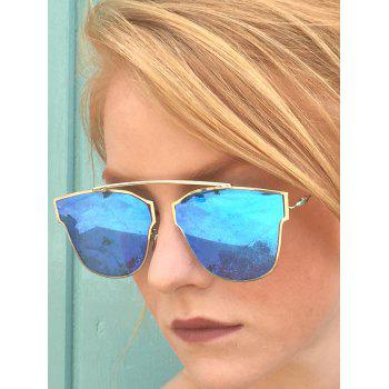 mirrored womens sunglasses yy1f  Chic Hollow Out Silver Metal Frame Women's Sunglasses