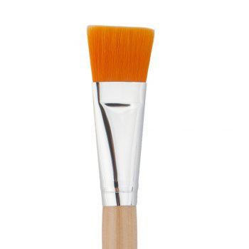 Nylon DIY Facial Mask Brush - LIGHT YELLOW