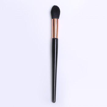 Nylon Flame Blush Brush - ROSE GOLD ROSE GOLD