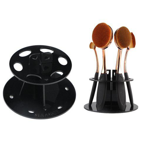 Cosmetic Brushtree Brush Holder Makeup Brush Display Stand - BLACK