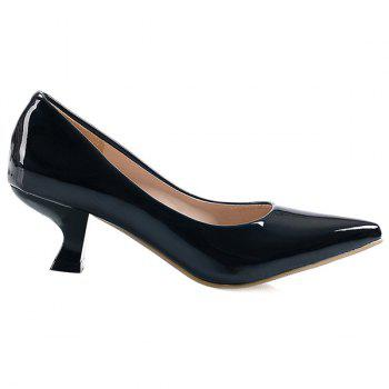 Strange Heel Point Toe Pumps