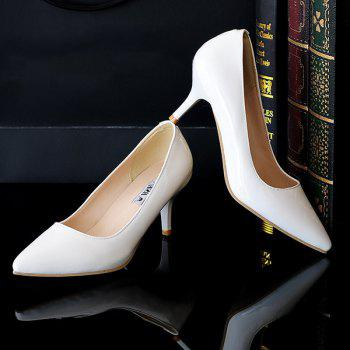 Slip On Point Toe Pumps