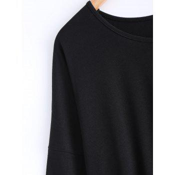 High-Low Loose Fit Long Sleeve Tee - L L